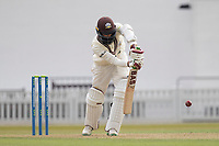 Hashim Amla, solid defensively during Surrey CCC vs Hampshire CCC, LV Insurance County Championship Group 2 Cricket at the Kia Oval on 30th April 2021