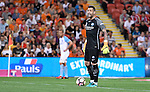 BRISBANE, AUSTRALIA - OCTOBER 30: Dean Bouzanis of Melbourne gives instructions during the round 5 Hyundai A-League match between the Brisbane Roar and Melbourne City at Suncorp Stadium on November 4, 2016 in Brisbane, Australia. (Photo by Patrick Kearney/Brisbane Roar)