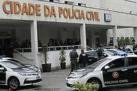 Rio de Janeiro (RJ), 07/05/2021 - Violência-rio - Várias viaturas da Policia da Cidade saíram em carreata em direção ao cemiterio Jardim SaUdades em Sulacp, onde será sepultado o corpo do Policial Civil, Andre Frias, que foi baleado e morto na operação na na favela Jacarezinho.
