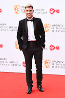 Kieron Richardson<br /> arriving for the BAFTA TV Awards 2018 at the Royal Festival Hall, London<br /> <br /> ©Ash Knotek  D3401  13/05/2018