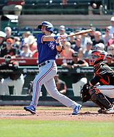 Matt Duffy - Texas Rangers 2020 spring training (Bill Mitchell)