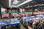 Great Britain, England, London: Old Spitalfields Market | Grossbritannien, England, London: Old Spitalfields Market, traditionsreicher Obst- und Gemuesemarkt