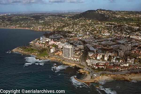 aerial photograph of La Jolla, San Diego, County, California