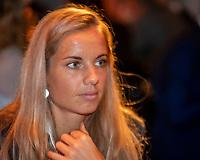 The Hague, The Netherlands, Februari 5, 2020,    Penthouse, FedCup  Netherlands -  Balarus, Official Dinner,  Dutch table Arantxa Rus.<br /> Photo: Tennisimages/Henk Koster