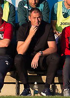 Swansea City Manager Paul Clement during the 2017/18 Pre Season Friendly match between Barnet and Swansea City at The Hive, London, England on 12 July 2017. Photo by Andy Rowland.