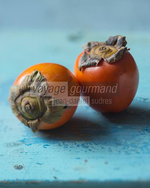 Gastronomie: Kakis bio //  Gastronomy: Organic persimmons