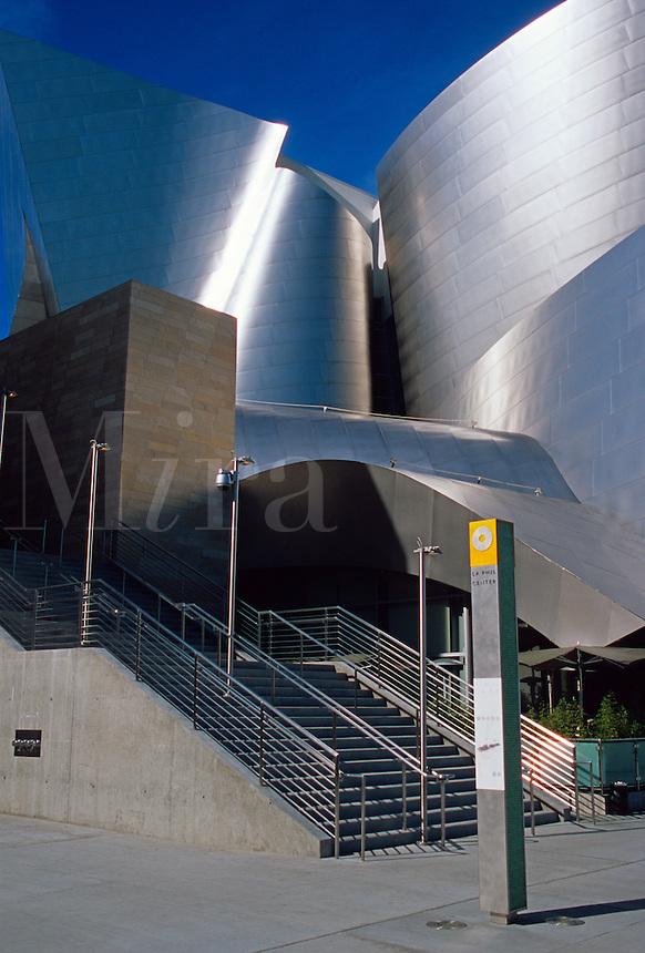 Walt Disney Concert Hall. Los Angeles Californi