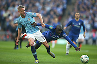N'Golo Kante of Chelsea is tackled by Oleksandr Zinchenko of Manchester City during the Carabao Cup Final match between Chelsea and Manchester City at Stamford Bridge on February 24th 2019 in London, England. (Photo by Paul Chesterton/phcimages.com)<br /> Foto PHC Images / Insidefoto <br /> ITALY ONLY
