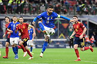 Lorenzo Insigne of Italy during the Uefa Nations League semi-final football match between Italy and Spain at San Siro stadium in Milano (Italy), October 6th, 2021. Photo Andrea Staccioli / Insidefoto