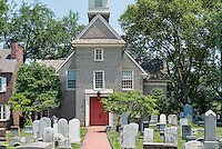 Gloria Dei, Historic Old Swedes' Church, founded in 1677, Philadelphia, Pennsylvania, USA. Oldest church in Pennsylvania