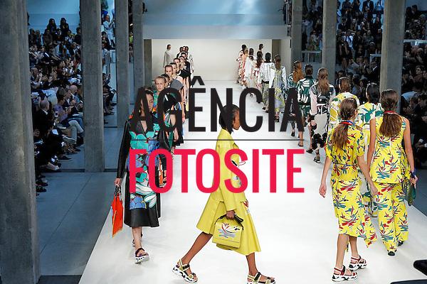 Milao, Itália '09/2014 - Desfile de Marni durante a Semana de moda de Milao  -  Verao 2015. <br /> <br /> Foto: FOTOSITE
