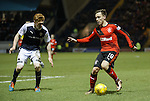 Barrie McKay dancing over the ball
