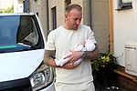 Delivery driver helps deliver baby
