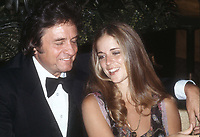 Johnny Cash Roseanne Cash 1978<br /> Photo By Adam Scull/PHOTOlink.net