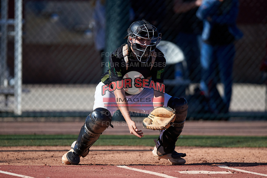 Alec Barrett during the Under Armour All-America Tournament powered by Baseball Factory on January 19, 2020 at Sloan Park in Mesa, Arizona.  (Mike Janes/Four Seam Images)Under Armour All-America Tournament powered by Baseball Factory on January 19, 2020 at Sloan Park in Mesa, Arizona.  (Zachary Lucy/Four Seam Images)