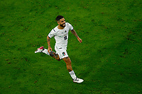Lorenzo Insigne of Italy celebrates after scoring the goal of 0-2 during the Uefa Euro 2020 round of 8 football match between Belgium and Italy at football arena in Munich (Germany), July 2nd, 2021. Photo Matteo Ciambelli / Insidefoto