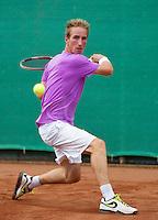 2013-08-17, Netherlands, Raalte,  TV Ramele, Tennis, NRTK 2013, National Ranking Tennis Champ, Mark de Jong<br /> <br /> Photo: Henk Koster