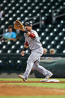 Peoria Javelinas Brian O'Grady (49), of the Cincinnati Reds organization, during a game against the Mesa Solar Sox on October 15, 2016 at Sloan Park in Mesa, Arizona.  Peoria defeated Mesa 12-2.  (Mike Janes/Four Seam Images)