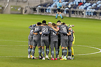 ST PAUL, MN - NOVEMBER 22: Minnesota United FC before during a game between Colorado Rapids and Minnesota United FC at Allianz Field on November 22, 2020 in St Paul, Minnesota.