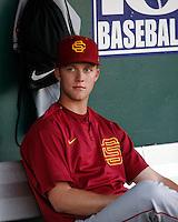 Brad Boxberger - 2008 USC Trojans.Photo by:  Bill Mitchell/Four Seam Images