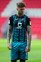 Brandon Cooper of Swansea City during the pre season friendly match between Exeter City and Swansea City at St James Park in Exeter, England, UK. Saturday, 20 July 2019