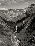 Yosemite Valley and Falls. CA. 1969