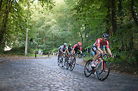 Pim Ligthart (NED/Lotto-Soudal) racing the cobbles<br /> <br /> Brussels Cycling Classic 2016