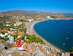 Griechenland, Dodekanes, Rhodos, bei Lindos: Vlieha Bay | Greece, Dodekanes, Rhodes, near Lindos: Vlieha Bay