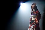 November 8, 2012, Tokyo, Japan - Japanese model Nanao poses on the catwalk during Girls Award 2012 Autumn/Winter at the Yoyogi National Gymnasium in Shibuya, Japan. (Photo by Yumeto Yamazaki/Nippon News)