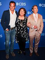 NEW YORK CITY, NY, USA - MAY 14: Will Arnett, Margo Martindale, Beau Bridges at the 2014 CBS Upfront held at Carnegie Hall on May 14, 2014 in New York City, New York, United States. (Photo by Celebrity Monitor)