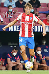 Atletico de Madrid's Saul Niguez during La Liga match. August 22,2021. (ALTERPHOTOS/Acero)
