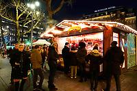 Nederland - Amsterdam - Januari 2019. Kerstmarkt Rembrandtplein. Spanish Churros.   Foto Berlinda van Dam / Hollandse Hoogte.