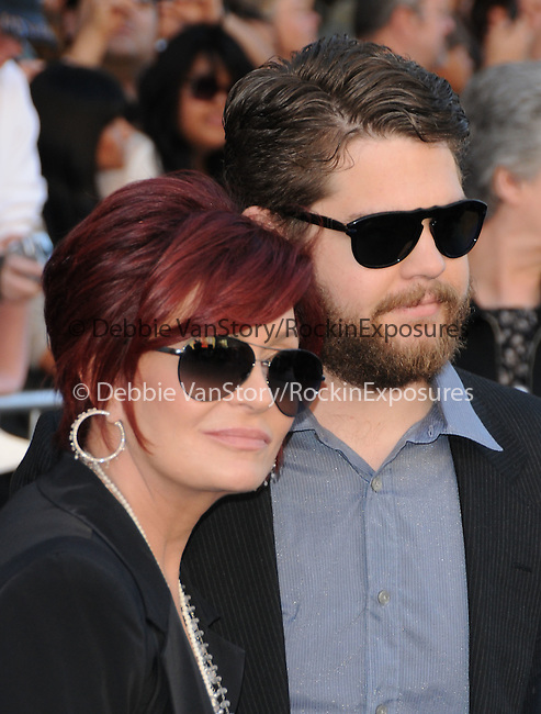 Sharon Osbourne and Jack Osbourne at Touchstone Pictures' World Premiere of Gnomeo & Juliet held at The El Capitan Theatre in Hollywood, California on January 23,2011                                                                               © 2010 DVS/Hollywood Press Agency