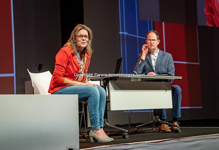 Nieuwegein, Netherlands, November 23,  2019, MBC Congrescentrum, KNLTB Year Congres , opening act<br /> Photo: Tennisimages/Henk Koster