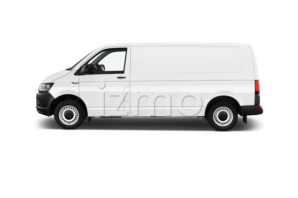 Car Driver side profile view of a 2016 Volkswagen Transporter-Furgon - 4 Door Cargo Van Side View