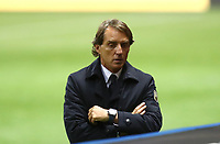 Footbal Soccer: FIFA World Cup Qatar 2022 Qualification, Italy - Northern Ireland, Ennio Tardini stadium, Parma, March 26, 2021.<br /> Italy's coach Roberto Mancini during the FIFA World Cup Qatar 2022 qualification, football match between Italy and Northern Ireland, at Ennio Tardini stadium in Parma on March 26, 2021.<br /> UPDATE IMAGES PRESS/Isabella Bonotto