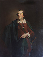 One of the portraits displayed in the dining room