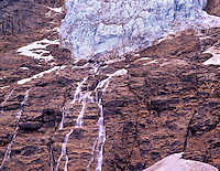 Angel Glacier on Mt. Edith Cavell. Jasper National Park, Canada