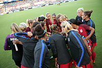 Carson, CA - Thursday August 03, 2017: USWNT prior to a 2017 Tournament of Nations match between the women's national teams of the United States (USA) and Japan (JPN) at the StubHub Center.