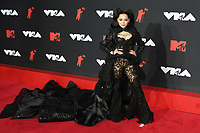 NEW YORK, NY- SEPTEMBER 12: Bella Poarch at the 2021 MTV Video Music Awards at Barclays Center on September 12, 2021 in Brooklyn,  New York City. <br /> CAP/MPI/JP<br /> ©JP/MPI/Capital Pictures