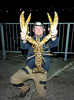 Huge lobster saved from the cooking pot by a compassionate angler who caught it by accident