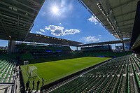 AUSTIN, TX - JUNE 19: A photo of Q2 Stadium before a game between San Jose Earthquakes and Austin FC at Q2 Stadium on June 19, 2021 in Austin, Texas.