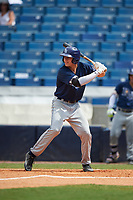 Anthony Gonnella (19) of Riverview High School in Riverview, Florida playing for the Tampa Bay Rays scout team during the East Coast Pro Showcase on July 30, 2015 at George M. Steinbrenner Field in Tampa, Florida.  (Mike Janes/Four Seam Images)