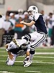 Dallas Cowboys kicker Dan Bailey (5)  in action during the Thanksgiving Day game between the Miami Dolphins and the Dallas Cowboys at the Cowboys Stadium in Arlington, Texas. Dallas defeats Miami 20 to 19...