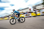 Alejandro Valverde (ESP) Movistar Team at sign on before the start of Stage 4 of the 2021 Tour de France, running 150.4km from Redon to Fougeres, France. 29th June 2021.  <br /> Picture: A.S.O./Charly Lopez   Cyclefile<br /> <br /> All photos usage must carry mandatory copyright credit (© Cyclefile   A.S.O./Charly Lopez)
