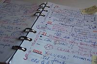 Agenda di lavoro. Working agenda...