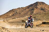 31st December 2020, Jeddah, Saudi Arabian. The vehicle and river shakedown for the 2021 Dakar Rally in Jeddah;   21 Sanders Daniel aus, KTM, KTM Factory Team, Moto, Bike, action during the shakedown of the Dakar 2021 in Jeddah
