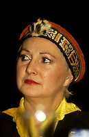 Louisette Dussault<br /> , vers 1990<br /> <br /> PHOTO :  Agence Quebec Presse