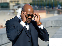 """Director Antoine Fuqua attends a pohotocall to promote his film """"The Equalizer"""" during the 62nd San Sebastian Film Festival on September 19, 2014, Basque country. (Ander Gillenea / Bostok Photo)"""