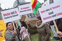 2014/10/09 Berlin | Kobane-Kundgebung vor dem Reichstag